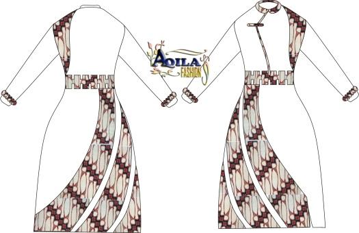 Batik Gamis GLD.1