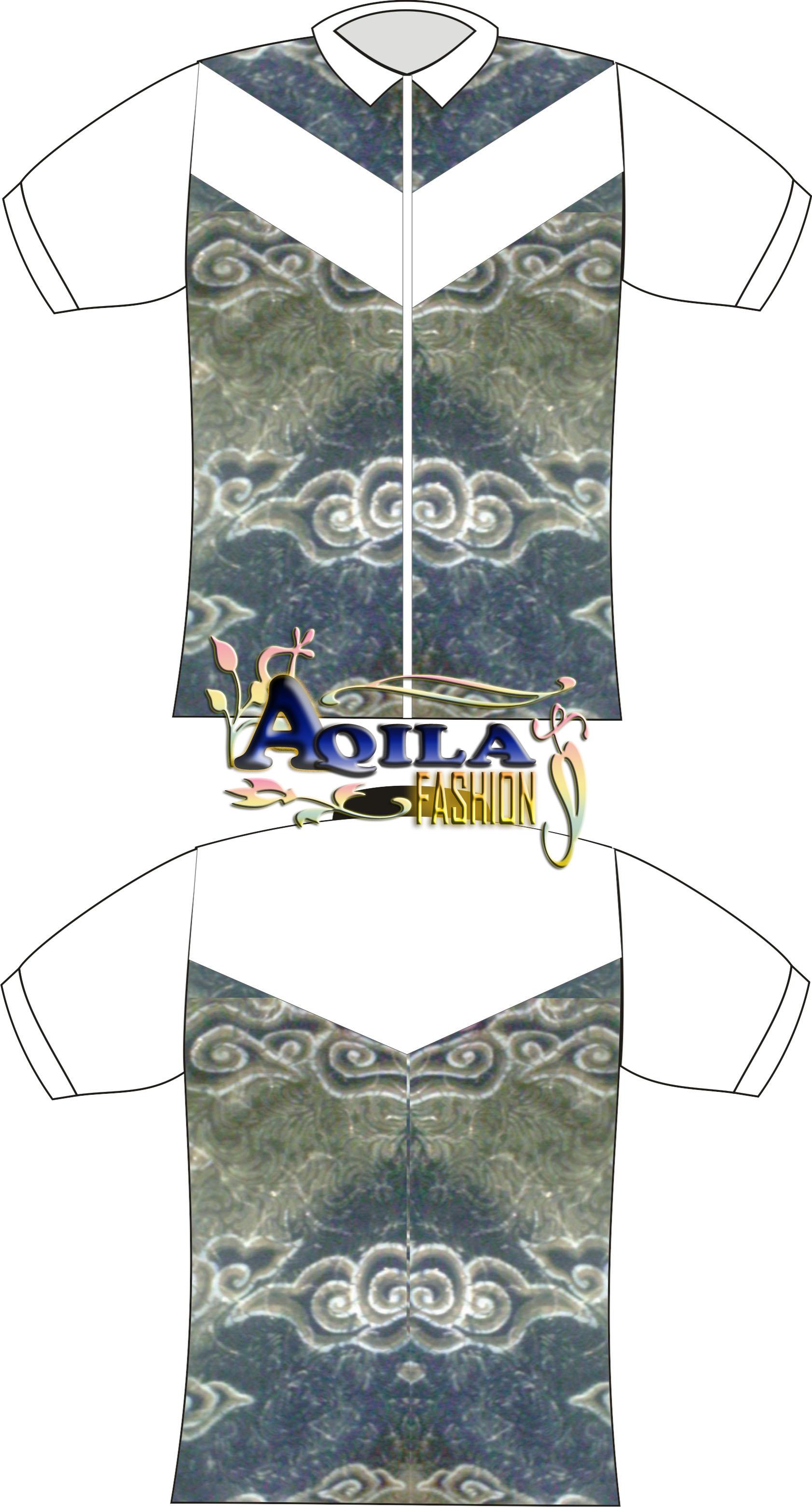 Kemeja Batik, Baju Batik, Desain Baju Batik, Kode KB.5, Luwes, trendy ...