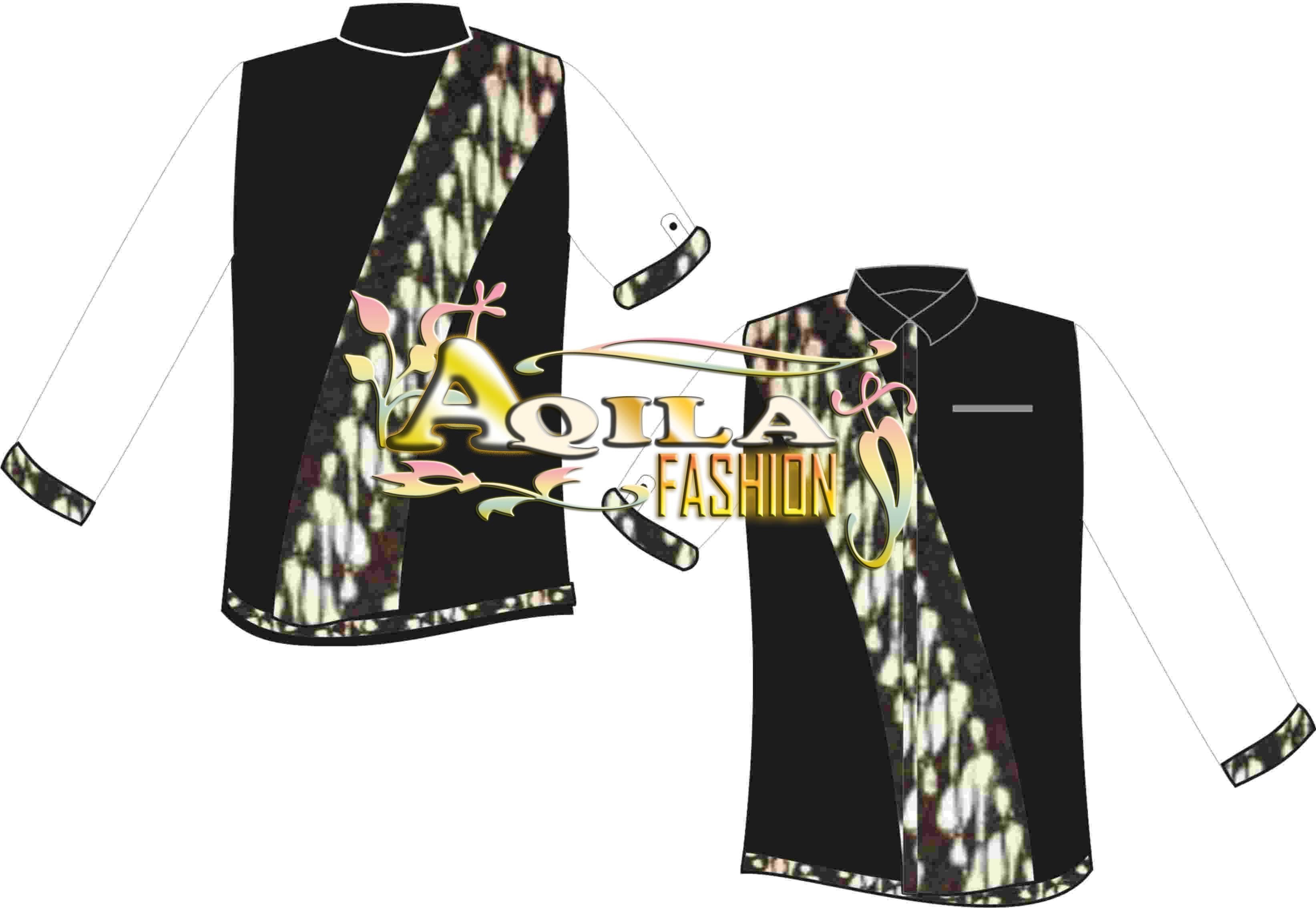 Baju Batik Kombinasi Desain 10 Kode  KBJ10  BATIK  ANEKA