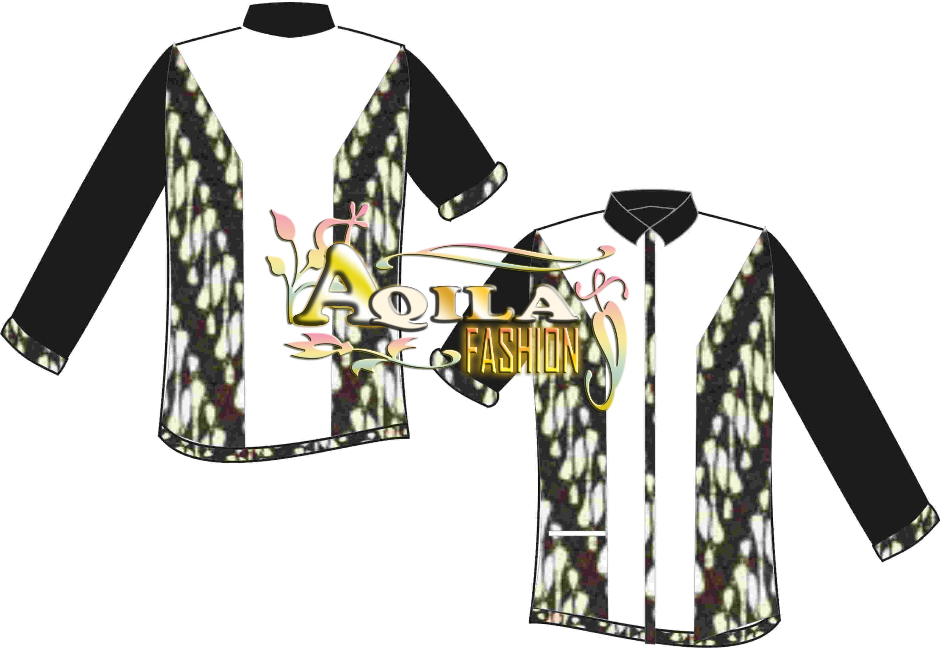 Desain Kemeja Batik Kombinasi  BATIK  ANEKA batik  BAJU batik