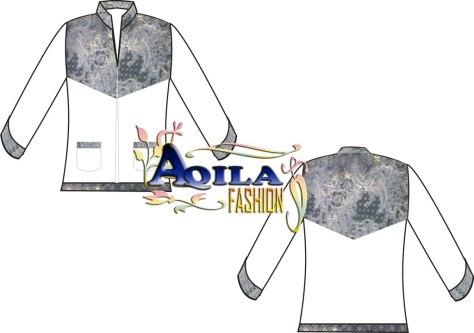 Baju Muslim / Koko Batik, Kode : KK6, Warna Putih kombinasi batik dengan gaya elegan, nyaman dipakai, menambah kekhusyukan ibadah anda, luwes, tersedia berbagai ukuran, berbagai warna, dan tentunya batik modern, DESAIN TERBATAS!!!, Harga Rp. 150.000/ pcs, Rp. 135.000/ kodi (nego), informasi hubungi : 085742125550, www.kaosbatikpekalongan.wordpress.com, email : ian_qyu@yahoo.co.id.