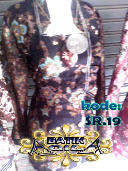 Blouse Batik motif bunga sakura, KODE: SR. 19, Batik Elegan dan penuh gaya. perpaduan desain tradisional Indonesia dengan desain Modern Tradisonal Jepang, blouse Batik dilengkapi dengan ikat pinggang baju membuat badan terasa langsing serta menambah nilai artistiknya. harga Rp. 95.000/pasang, Rp. 1.800.000/kodi, informasi hubungi : 085742125550 (IM3),https://kaosbatikpekalongan.wordpress.com.