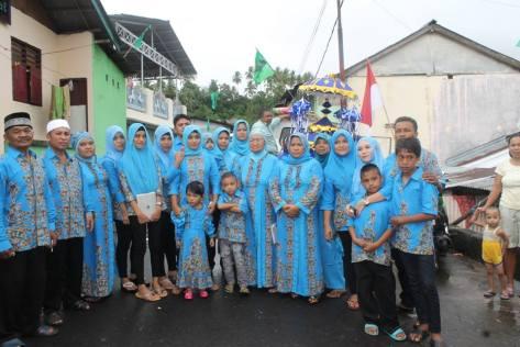 Pelanggan Batik Aqila atas nama Enab, Gorontalo, www.kaosbatikpekalongan.com