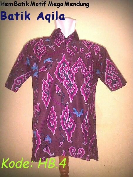 Hem Batik Motif Mega Mendung Khas Cirebonan,Batik DIJAMIN TIDAK LUNTUR, pilihan warna : merah,hitam,biru. Harga Special Rp. 95.000/ baju. Bahan Kain : Katun Primisima Order hubungi: 085742125550/ 082329133113, PIN: 2A687004. http://batikaqila.com/
