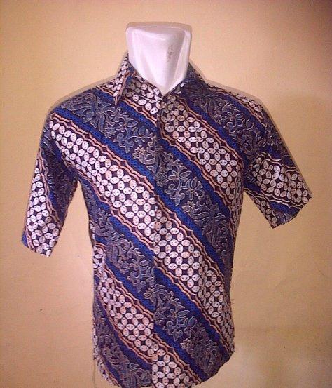 Hem Batik Kawung Kombinasi Liris, size: M, L, XL, Pilihan Warna : Biru, Hijau, Merah, Ungu, Special Price : Rp. 35.000/ pcs, Bahan Katun Prima, order hubungi : 085742125550 (SMS)/ 082329133113 (CALL), http://batikaqila.com