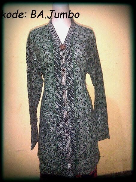 Blouse Batik Atasan BIG SIZE,kode: BA.Jumbo,bahan katun,ukuran: Allsize XXL, Harga Special Rp.48.000,DISKON! Untuk pembelian min.5 pcs. http://batikaqila.com/