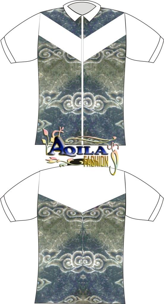 Desain Hem Baju Batik Kombinasi  BATIK  ANEKA batik  BAJU batik