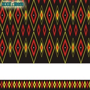 BAJU KAIN seragam batik sekolah kode sb058 MOTIF SONGKET BALI